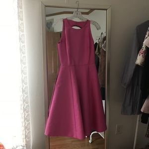Kate Spade Double Bow Back Midi Dress